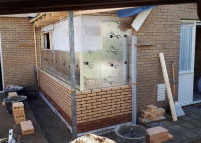 Verbouwing/uitbreiden aanbouw